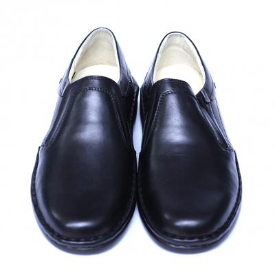 Pantofi barbati din piele naturala, Zen, Gitanos, Negru, 39 EU [1]