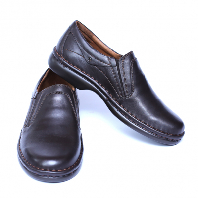 Pantofi barbati din piele naturala, Zen, Gitanos, Maro, 39 EU [2]