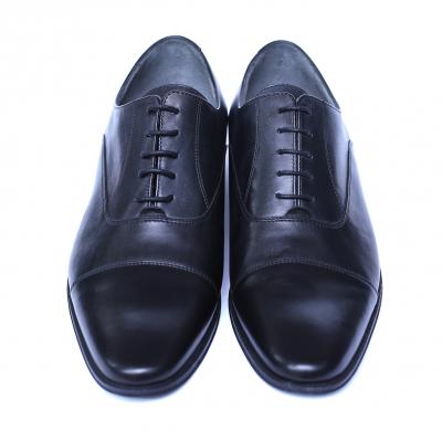 Pantofi barbati din piele naturala, Solari 2, DENIS, Negru, 39 EU [1]