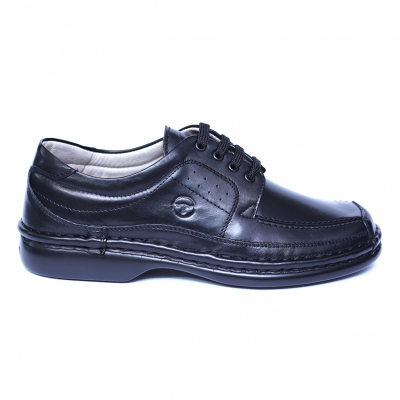 Pantofi barbati din piele naturala, Square, Gitanos, Negru, 39 EU [3]