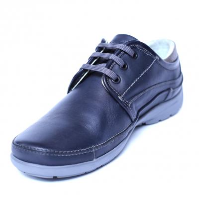 Pantofi barbati din piele naturala, Daily, Gitanos, Albastru, 39 EU0
