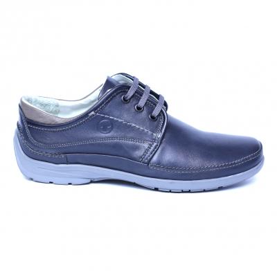 Pantofi barbati din piele naturala, Daily, Gitanos, Albastru, 39 EU3