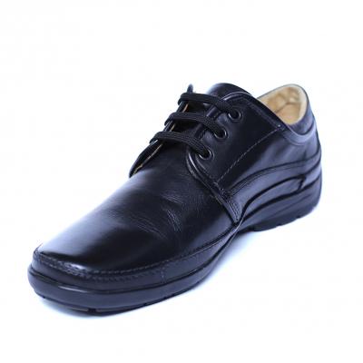 Pantofi barbati din piele naturala, Daily, Gitanos, Negru, 39 EU0