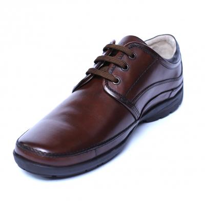 Pantofi barbati din piele naturala, Daily, Gitanos, Maro, 39 EU [0]