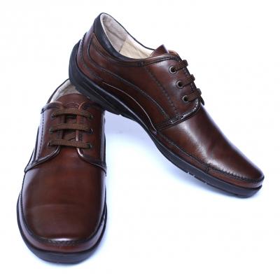 Pantofi barbati din piele naturala, Daily, Gitanos, Maro, 39 EU [2]