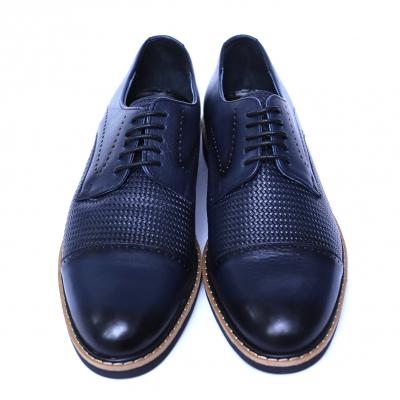 Pantofi barbati din piele naturala, Elvis, Relin, Albastru, 39 EU [1]