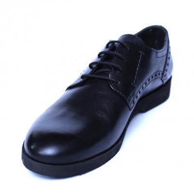 Pantofi barbati din piele naturala, Wed, Gitanos, Negru, 39 EU0