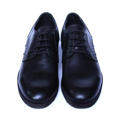 Pantofi barbati din piele naturala, Wed, Gitanos, Negru, 39 EU1