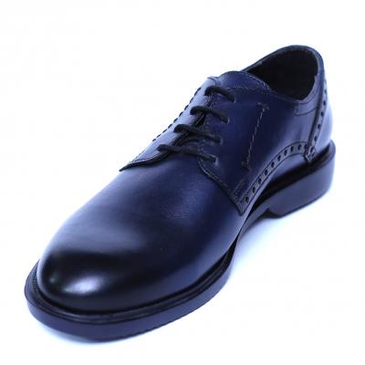 Pantofi barbati din piele naturala, Wed, Gitanos, Albastru, 39 EU [0]
