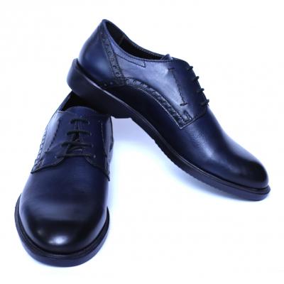 Pantofi barbati din piele naturala, Wed, Gitanos, Albastru, 39 EU [2]