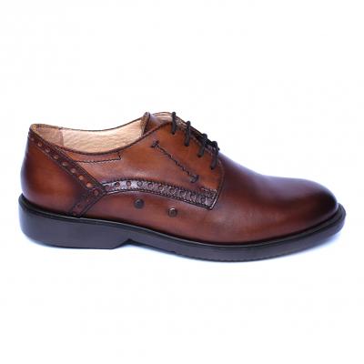 Pantofi barbati din piele naturala, Wed, Gitanos, Maro, 39 EU [3]