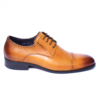 Pantofi barbati din piele naturala, Ka, SACCIO, Maro, 39 EU [3]
