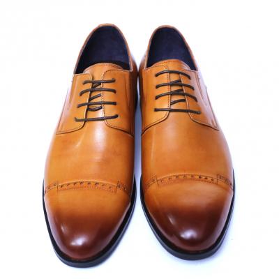 Pantofi barbati din piele naturala, Ka, SACCIO, Maro, 39 EU [1]