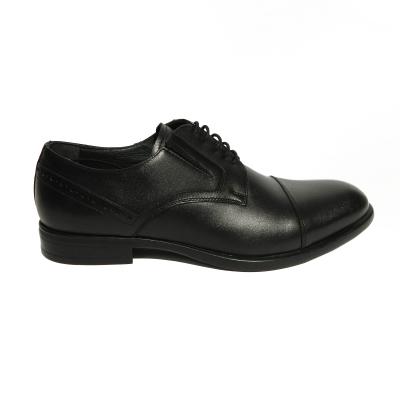 Pantofi eleganti pentru barbati Brandy, piele naturala, RIVA MANCINA, Negru, 39 EU [0]
