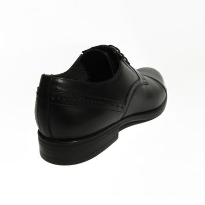 Pantofi eleganti pentru barbati Brandy, piele naturala, RIVA MANCINA, Negru, 39 EU [2]
