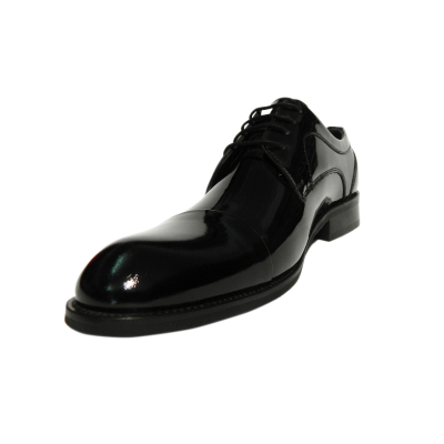Pantofi eleganti pentru barbati Buzz, piele naturala, Gitanos, Negru lac, 39 EU1