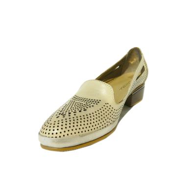 Pantofi dama din piele naturala, Ugudal, Gitanos, Bej, 36 EU [0]