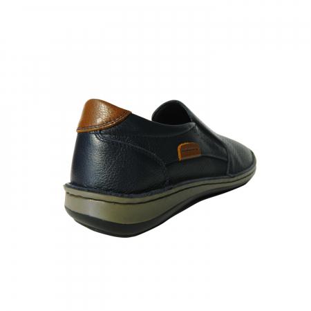 Pantofi casual pentru barbati din piele naturala, Florida, Dr. Jells, Albastru, 41 EU2