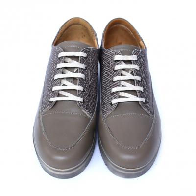 Pantofi dama din piele naturala, MIO, Peter, Bej, 38 EU1