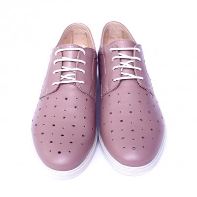 Pantofi dama din piele naturala, Fabia, Peter, Roz, 40 EU6