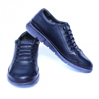 Pantofi dama din piele naturala, Snk, Goretti, Albastru, 39 EU [1]
