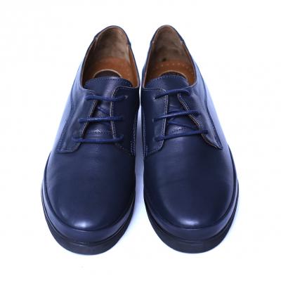 Pantofi dama din piele naturala, Jaqueline, Anna Viotti, Albastru, 40 EU [6]