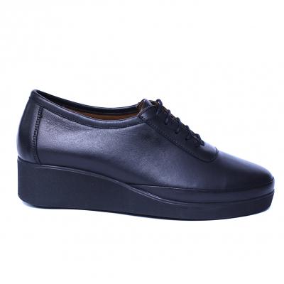 Pantofi dama din piele naturala, Sarabia, Anna Viotti, Negru, 40 EU [7]