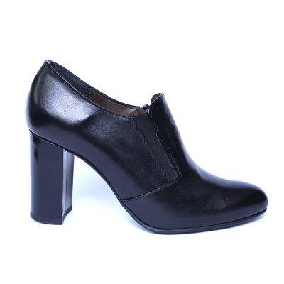 Pantofi dama din piele naturala, Serena, Nist, Negru, 35 EU5