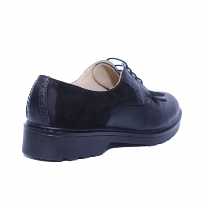 Pantofi dama din piele naturala, City, PETER, Negru, 40 EU1