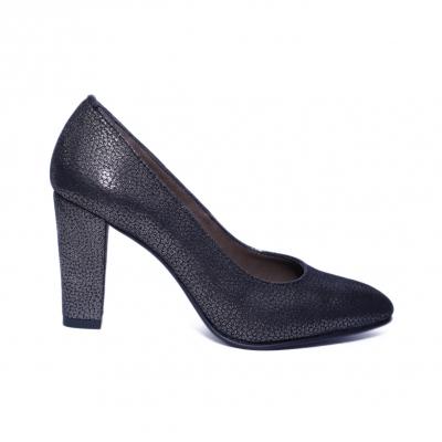 Pantofi dama din piele naturala, Brianne, Nist, Negru, 40 EU0