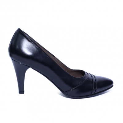 Pantofi dama din piele naturala, Marta, Nist, Negru, 37 EU [0]