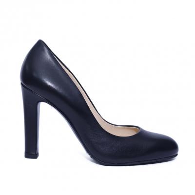 Pantofi dama din piele naturala, Edge, RIVA MANCINA, Negru, 39 EU [0]