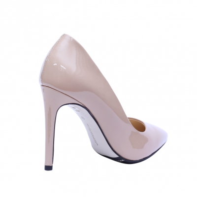 Pantofi dama din piele naturala, Elegance, RIVA MANCINA, Roz, 35 EU2