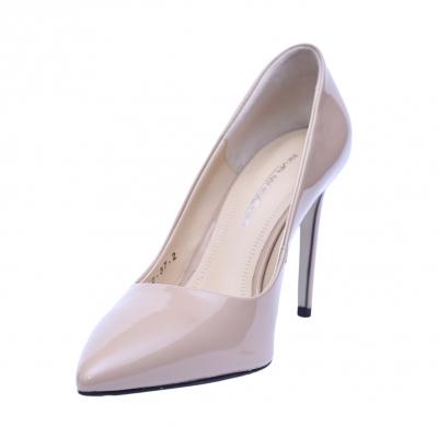 Pantofi dama din piele naturala, Elegance, RIVA MANCINA, Roz, 35 EU1