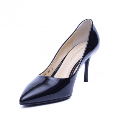 Pantofi dama din piele naturala, Elle, RIVA MANCINA, Negru, 36 EU [1]