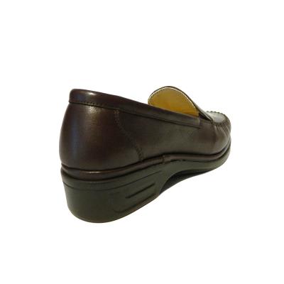 Pantofi dama cu talpa ortopedica Hail, piele naturala, Gitanos, Maro, 36 EU1