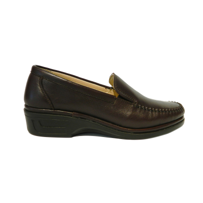 Pantofi dama cu talpa ortopedica Hail, piele naturala, Gitanos, Maro, 36 EU2