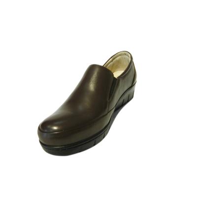 Pantofi dama cu talpa ortopedica Jevy, piele naturala, Gitanos, Maro, 36 EU [0]