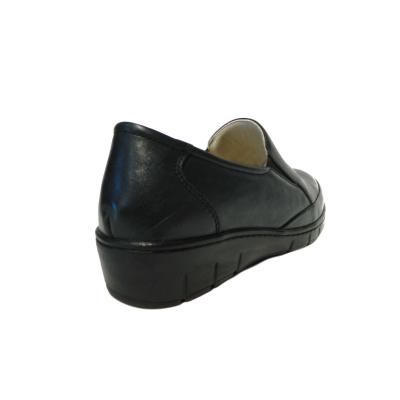 Pantofi dama cu talpa ortopedica Jevy, piele naturala, Gitanos, Albastru, 36 EU1