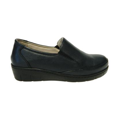 Pantofi dama cu talpa ortopedica Jevy, piele naturala, Gitanos, Albastru, 36 EU2