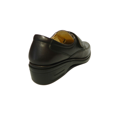 Pantofi dama cu talpa ortopedica Holy, piele naturala, Gitanos, Maro, 36 EU1