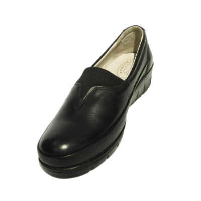 Pantofi dama cu talpa ortopedica Ipek, piele naturala, Gitanos, Negru, 36 EU [2]