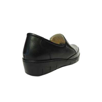 Pantofi dama cu talpa ortopedica Jevy, piele naturala, Gitanos, Negru, 37 EU [1]