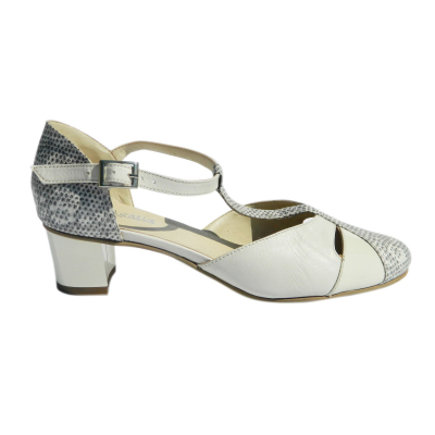 Pantofi dama din piele naturala, Felicity, Agatia, Bej, 35 EU0