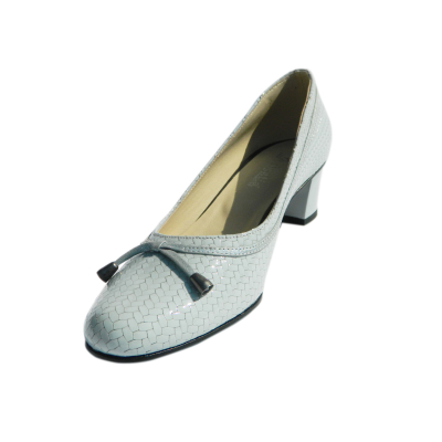 Pantofi dama din piele naturala, Xiemena, Agatia, Albastru, 35 EU0