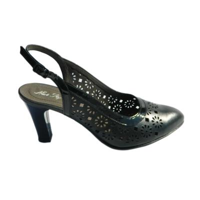 Pantofi dama din piele naturala, Shay, Nist, Negru, 35 EU2