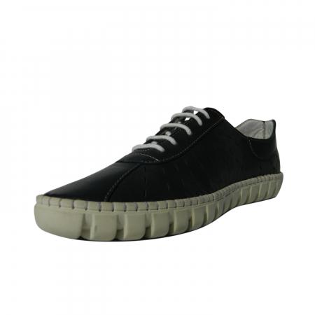 Pantofi dama din piele naturala, Julia, Gitanos, Albastru, 40 EU2