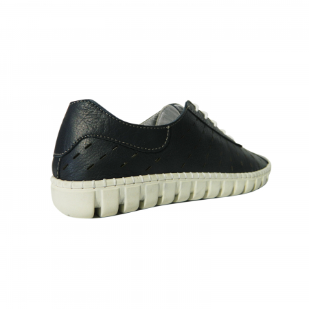 Pantofi dama din piele naturala, Julia, Gitanos, Albastru, 40 EU1