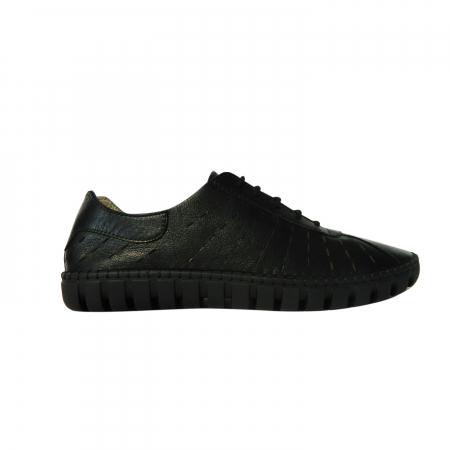 Pantofi dama din piele naturala, Julia, Gitanos, Negru, 37 EU0