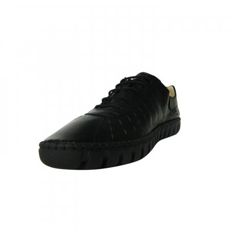 Pantofi dama din piele naturala, Julia, Gitanos, Negru, 37 EU2